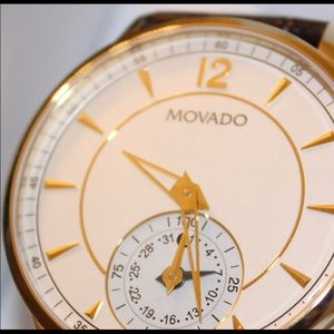 Movado Accessories - Movado Leather Smart Watch